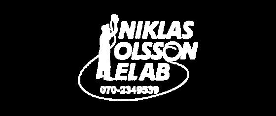 Niklas Olsson el AB logotyp